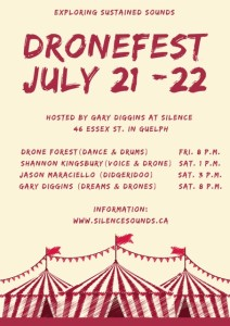 DroneFest with Tent.