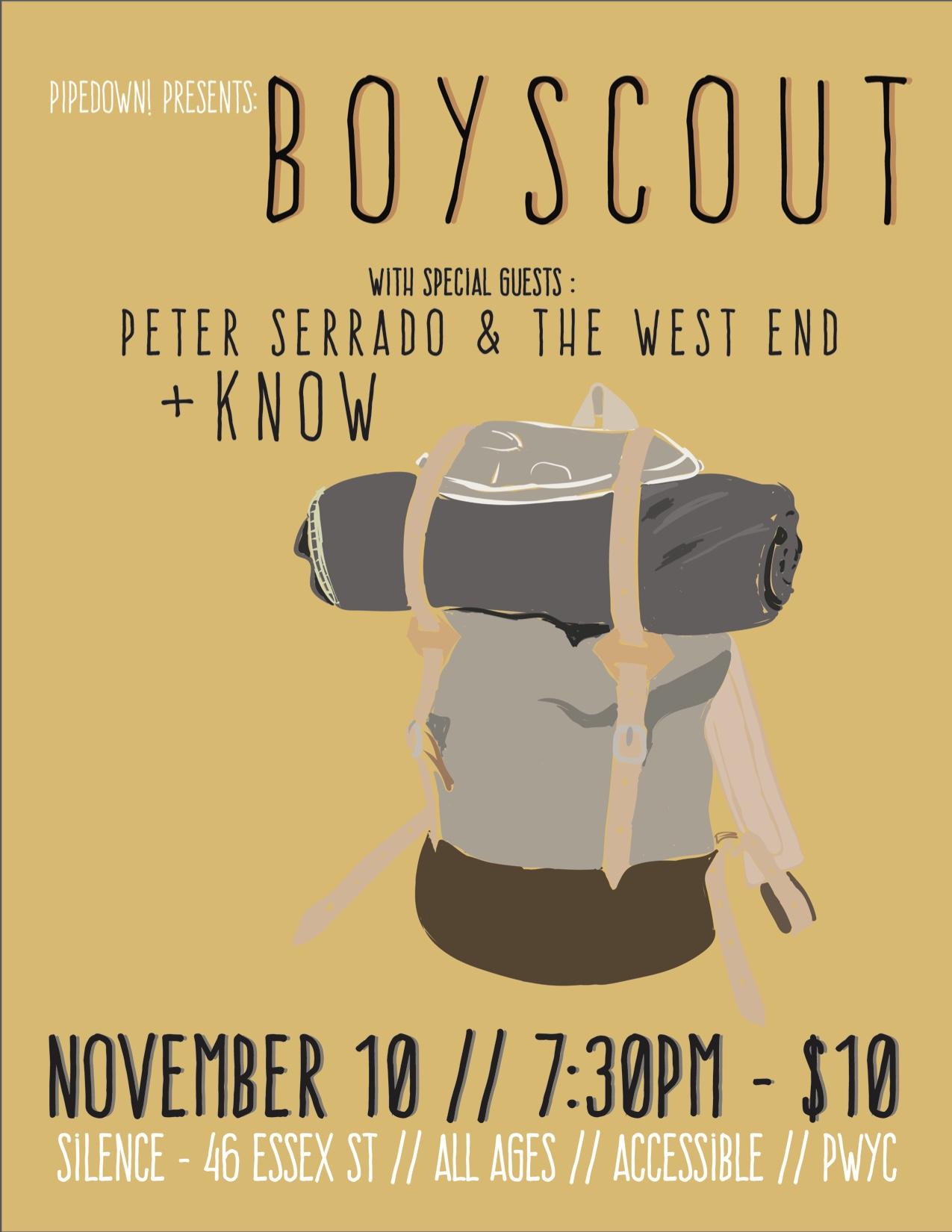 Boyscout poster —