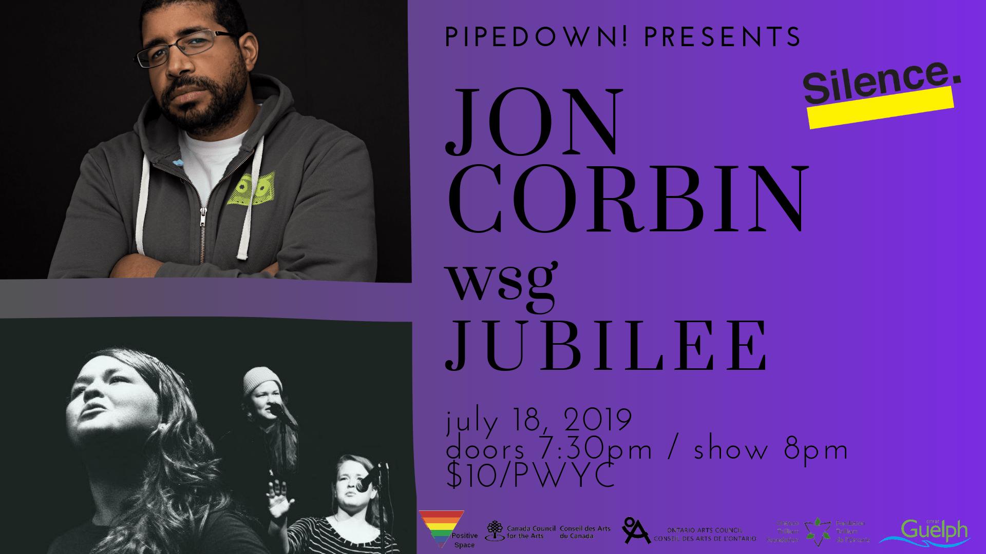 PP Jon Corbin (fb event)