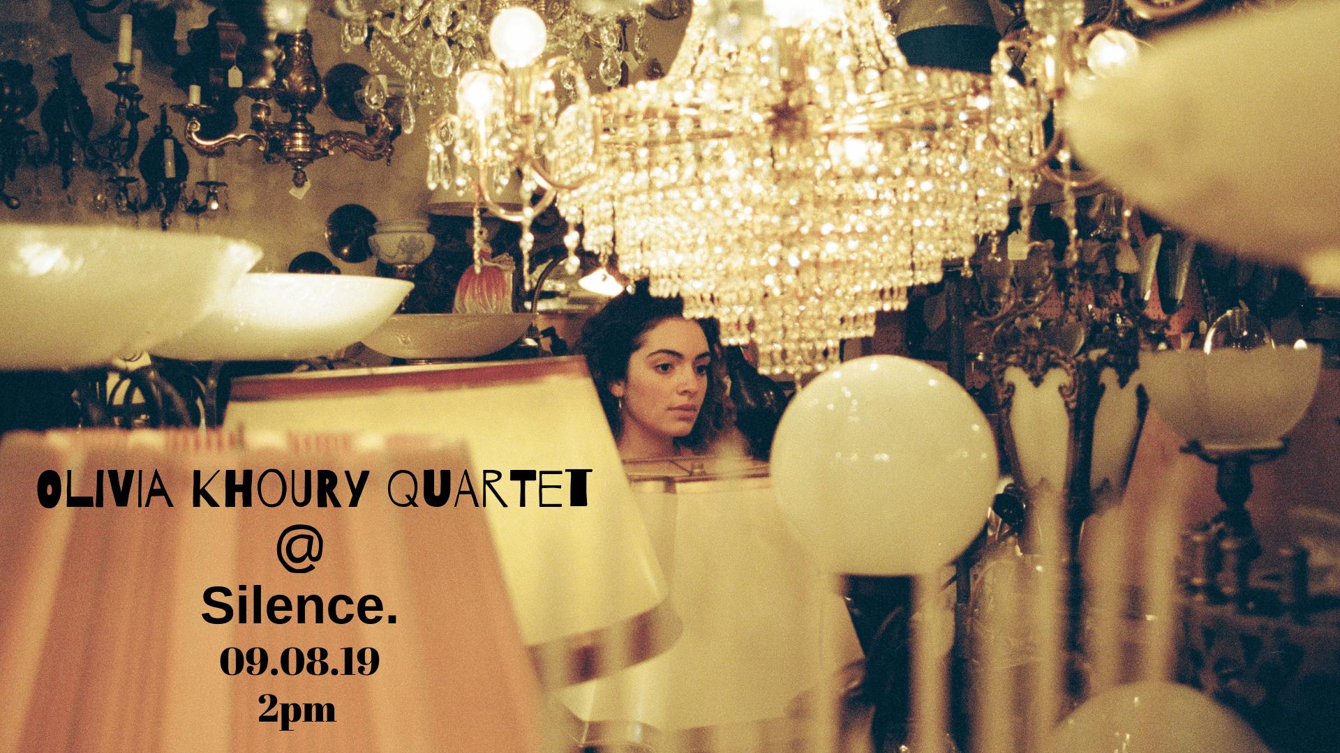 Olivia Khoury Quartet