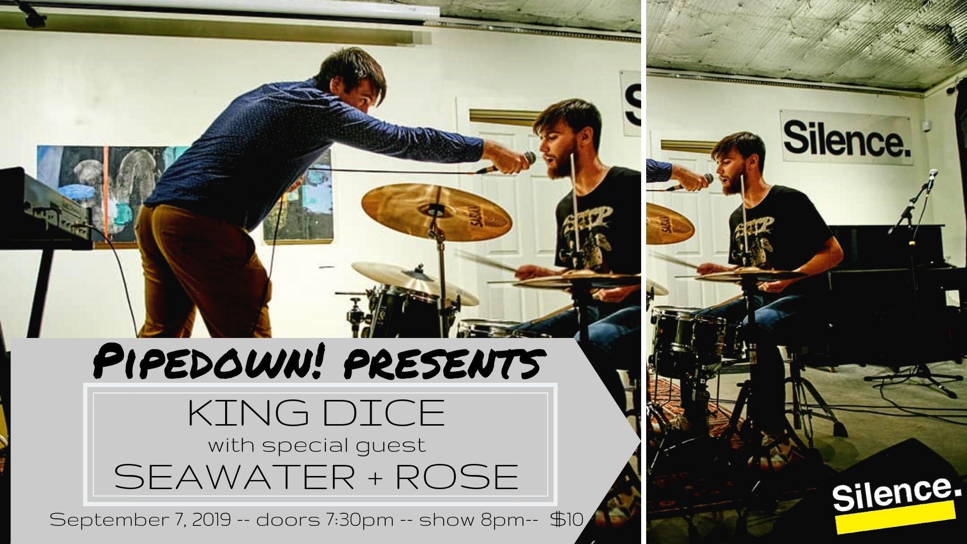 PP King Dice wsg Seawater+Rose