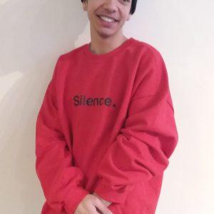 Silence. Sweatshirt - $35