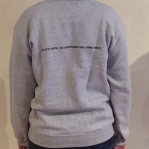 Silence. Sweatshirt (back) - $35